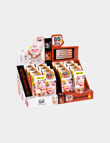 Kontes BB Cream 9 in 1 - (50 ml) Stand